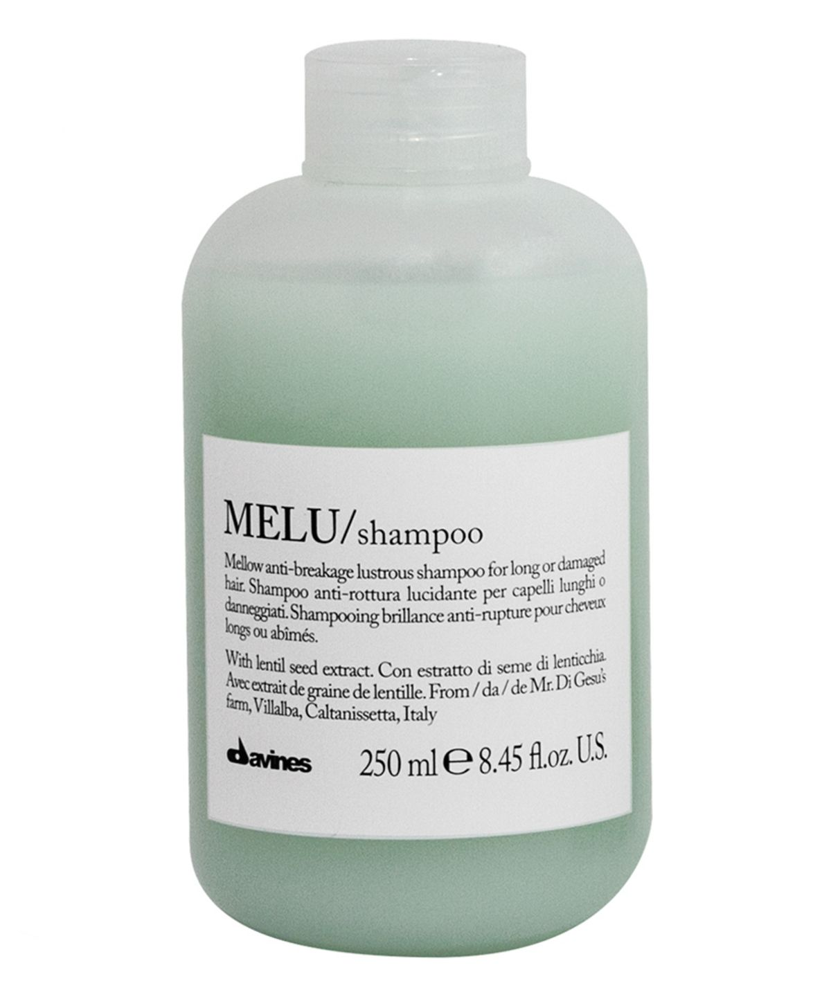 melu shampoo for fine delicate hair by davines. Black Bedroom Furniture Sets. Home Design Ideas