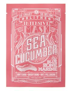 Intensive Mask - Sea Cucumber