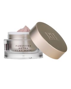 Purifying Detox Pink Clay Mask with Dual-Action Cleansing Cloth