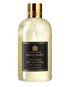 Vintage With Elderflower Bath & Shower Gel