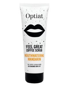 Feel Great Mouthwatering Mandarin Coffee Scrub