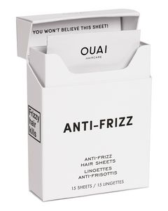Anti-Frizz Smoothing Sheets
