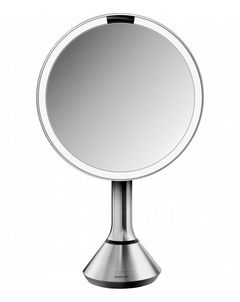 """Sensor Mirror 8"""" With Touch-Control Brightness"""