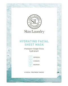 Hydrating Radiance Facial Treatment Mask (Pack of 8)