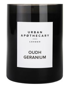Oudh Geranium Luxury Candle