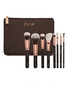 Rose Golden Luxury Brush Set - Volume 1