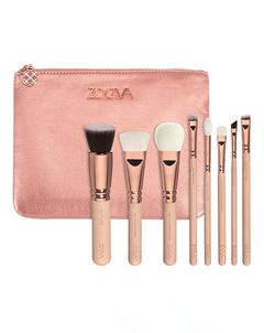 Rose Golden Luxury Brush Set - Volume 2