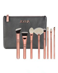 Rose Golden Luxury Brush Set - Volume 3