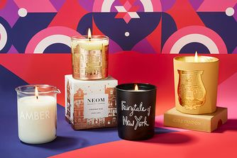 Create a festive ambience with these exquisite candles