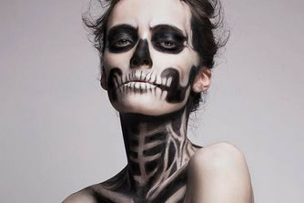 How to Halloween with what's already in your make up bag