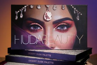 Drop everything: Huda's Desert Dusk Palette just fell to earth
