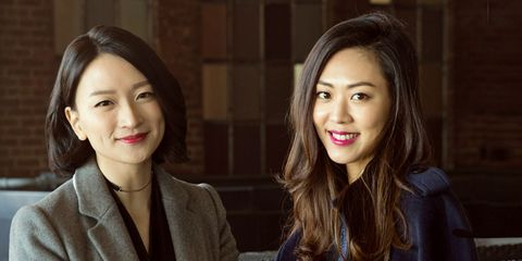 Sarah Lee & Christine Chang