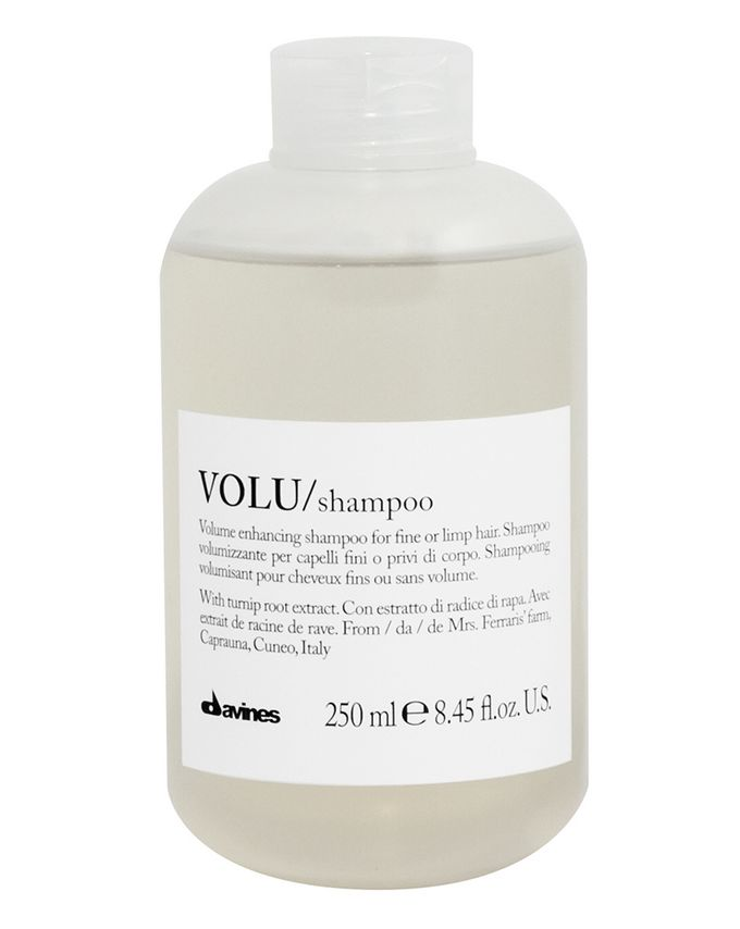 volu shampoo by davines. Black Bedroom Furniture Sets. Home Design Ideas