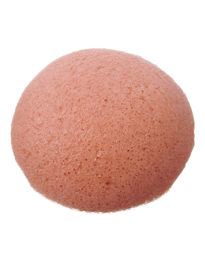 The Konjac Sponge Company Pure Konjac Puff sponge with French Pink Clay