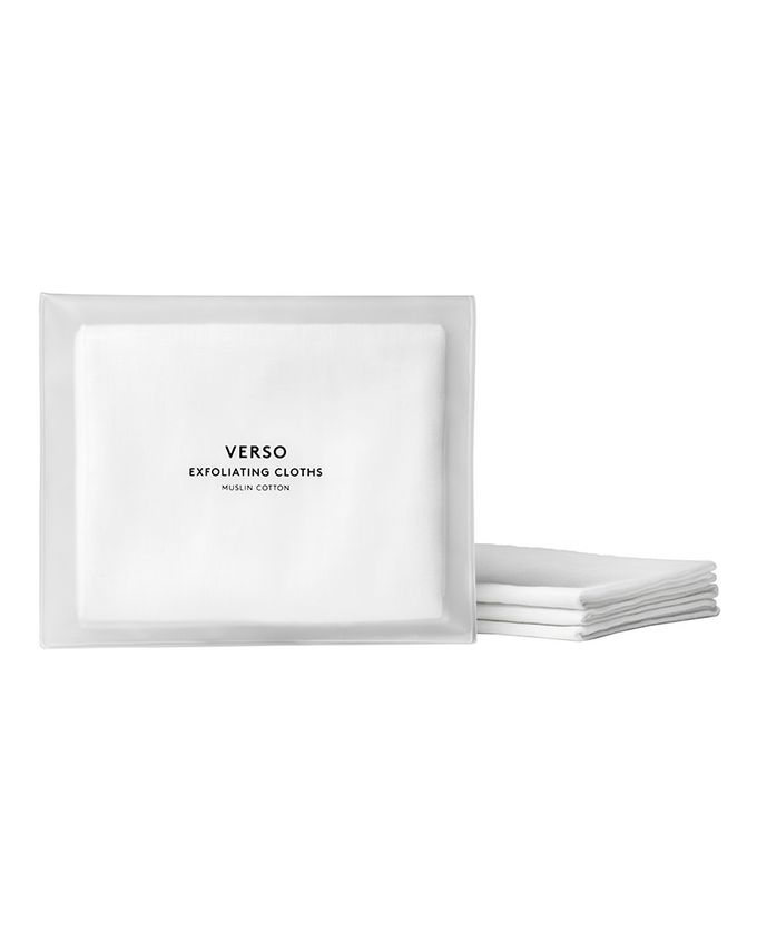 Verso Pack of 3 Exfoliating Cloths