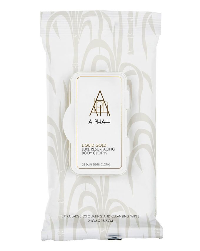 Alpha-H Liquid Gold Luxe Body Resurfacing Cloths