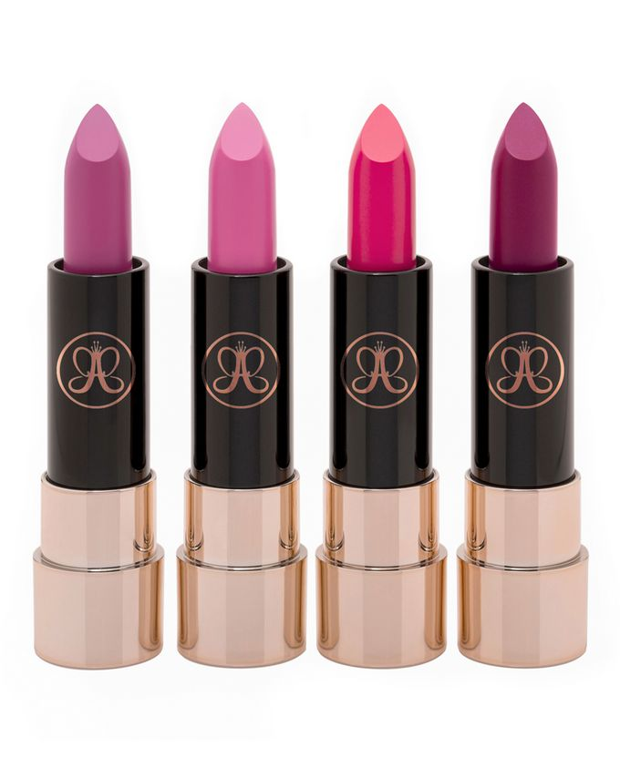 Anastasia Beverly Hills Mini Matte Lipstick 4 Piece Set – Pinks & Berries