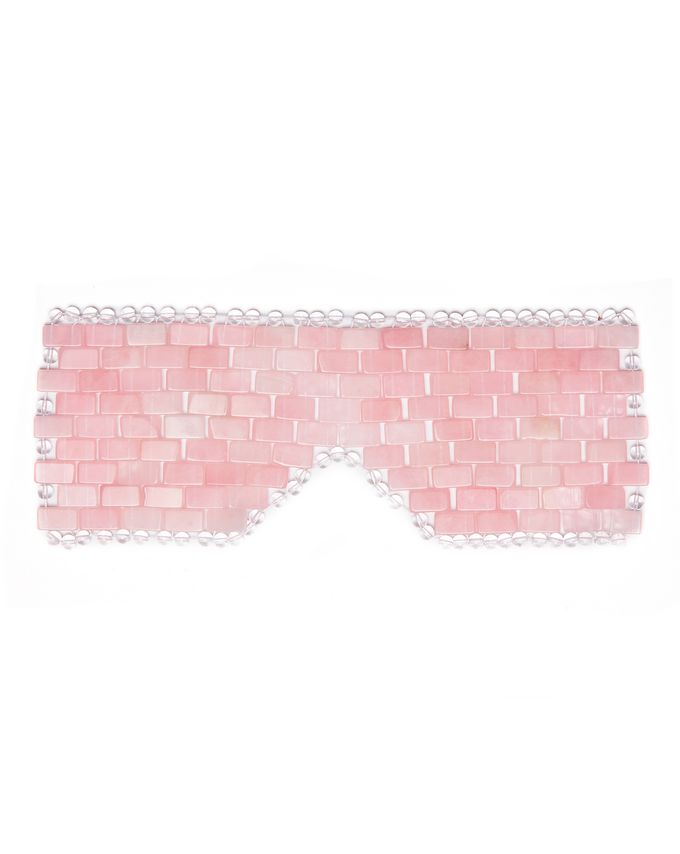 Angela Caglia Self Love Rose Quartz Eye Mask