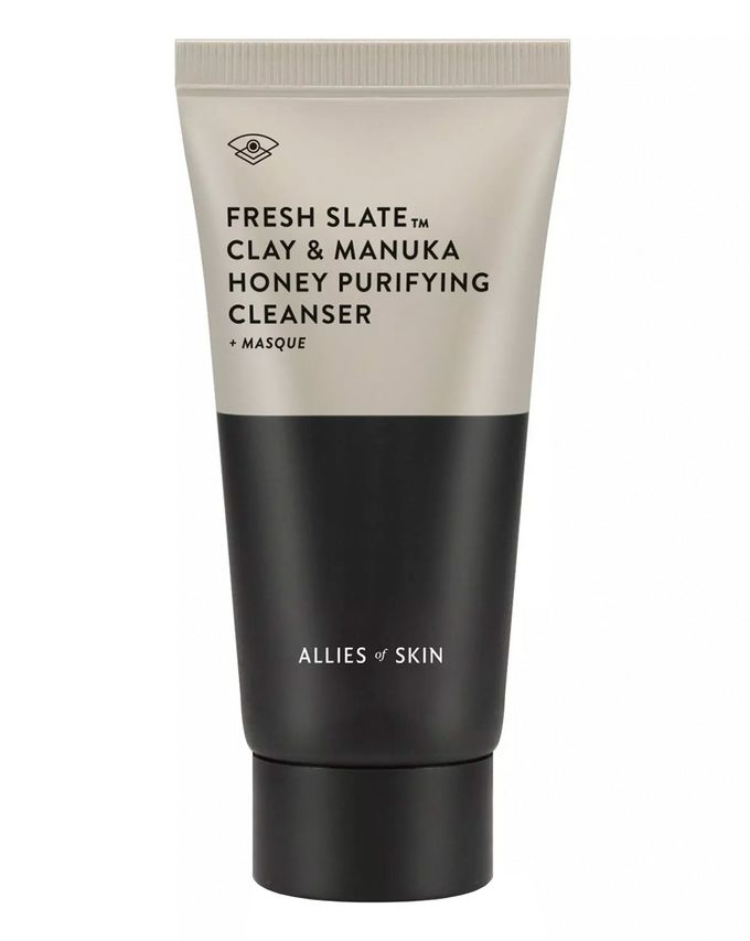 Allies of Skin Fresh Slate Clay & Manuka Honey Purifying Cleanser + Masque