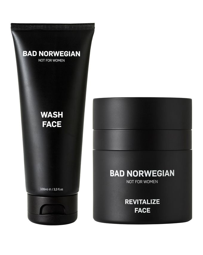 BAD NORWEGIAN Revitalize Face + Wash Face