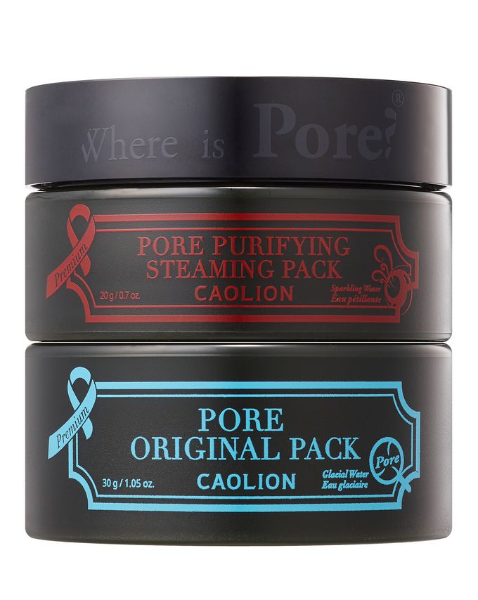 Caolion Hot & Cool Pore Pack Duo