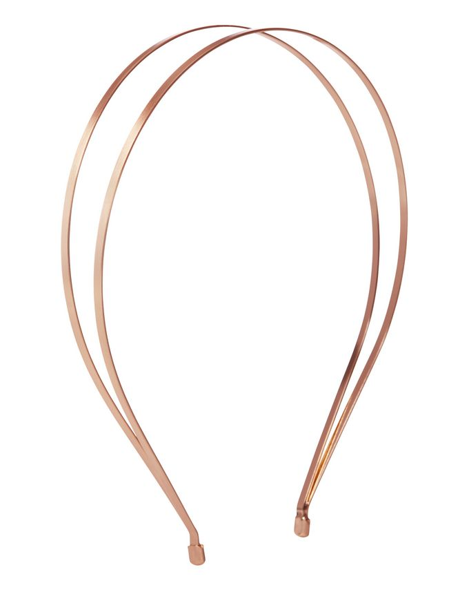 Jen Atkin X Chloe + Isabel Split Headband - Rose Gold