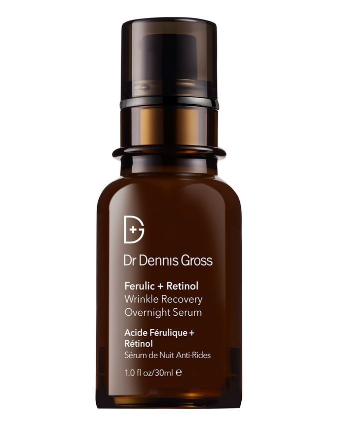 Dr. Dennis Gross Skincare Ferulic and Retinol Wrinkle Recovery Overnight Serum