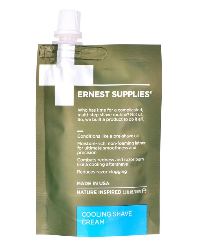 Ernest Supplies Cooling Shave Cream - Tech Pack