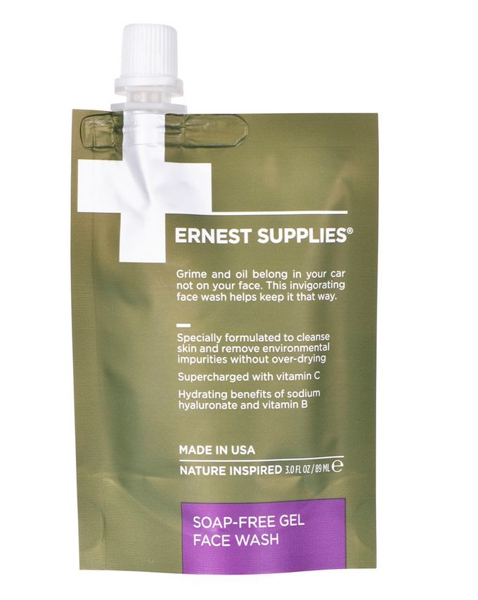 Ernest Supplies Soap-Free Gel Face Wash - Tech Pack