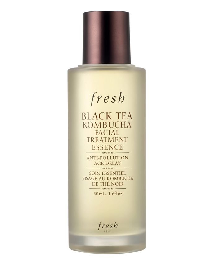 fresh Black Tea Kombucha Facial Treatment Essence