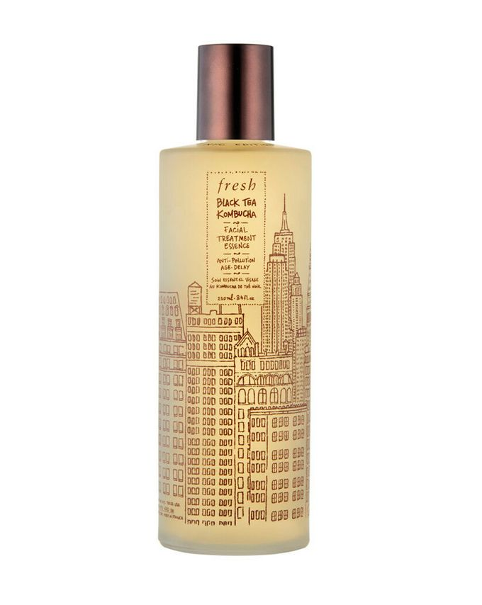 fresh Black Tea Kombucha Facial Treatment Essence - NYC Limited Edition