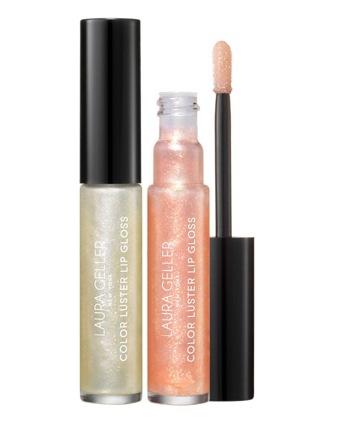 Laura Geller Colour Luster Lip Gloss Hi-Def Lip Topper Duo