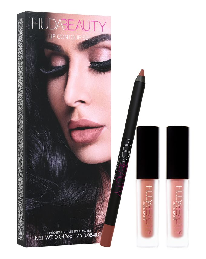 Huda Beauty Lip Contour Set Cult Beauty