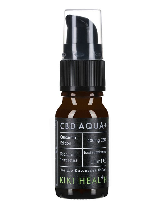 KIKI Health CBD Aqua+ with additional Curcumin