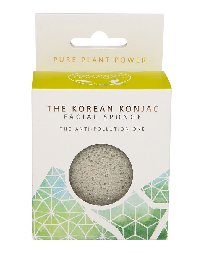 The Konjac Sponge Company The Elements Earth with Energising Tourmaline