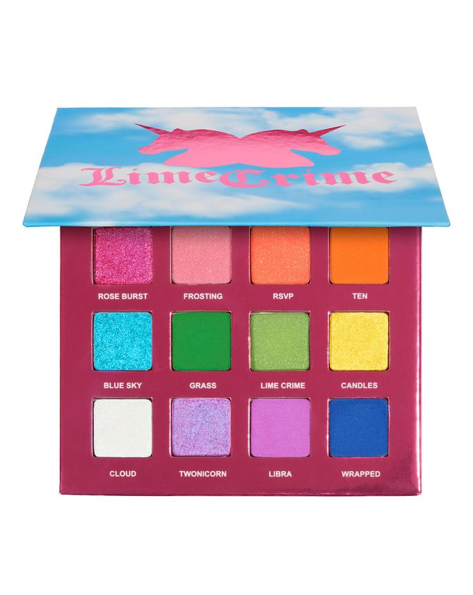 Lime Crime 10th Birthday Shadow Palette