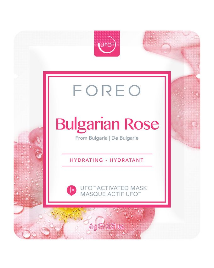 FOREO Bulgarian Rose UFO Moisture-Boosting Face Mask