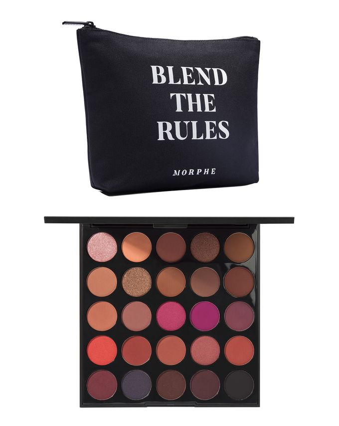 25 C Hey Girl Hey Artistry Palette & Blend The Rules Makeup Bag by Morphe