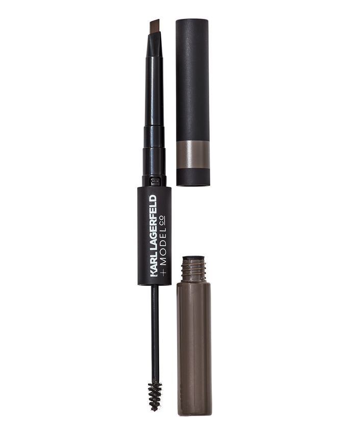 KARL LAGERFELD + MODELCO More Brows Fibre Brow Gel & Crayon Duo
