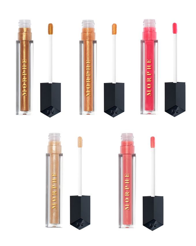 Morphe Hot Tropic 5-Piece Scented Lip Gloss Collection