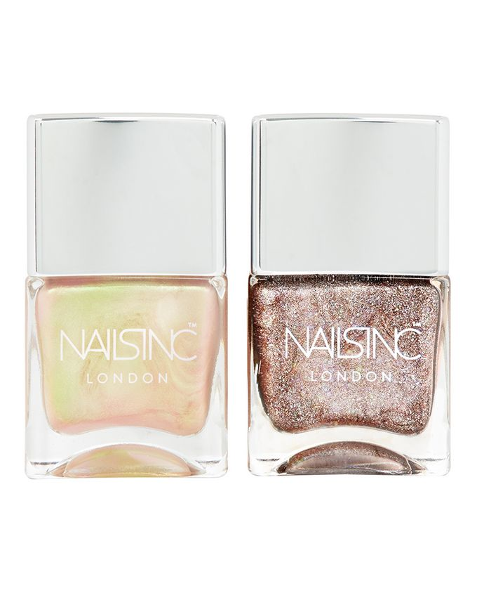 Nails Inc. | Champagne Shine Nail Polish Duo | Cult Beauty