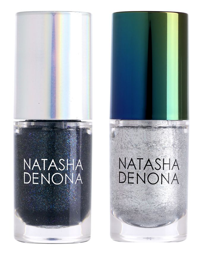 Chroma Crystal Liquid Eyeshadow Mini Set   Disco & Space by Natasha Denona
