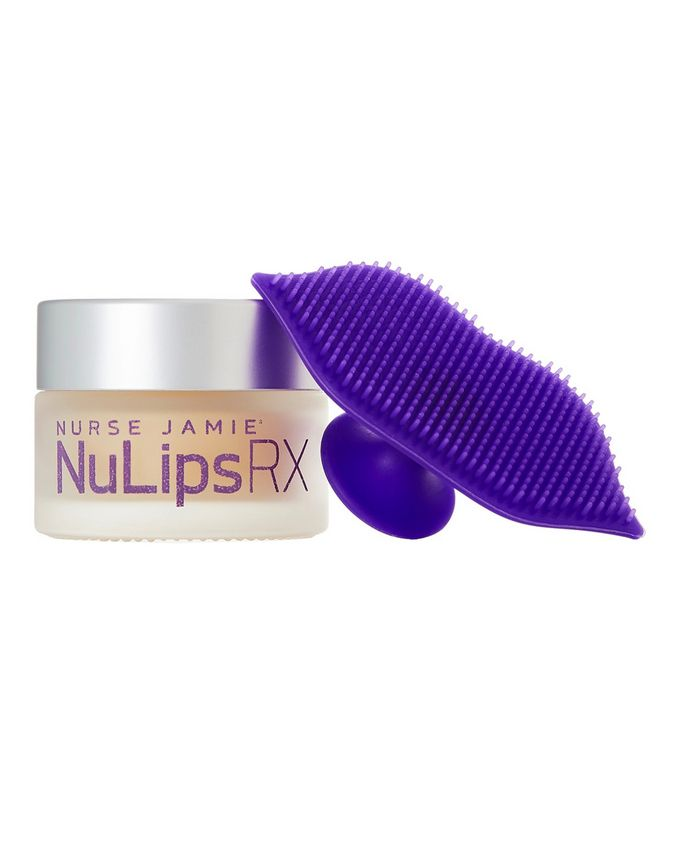 Nurse Jamie NuLips RX Moisturising Lip Balm + Exfoliating Lip Brush