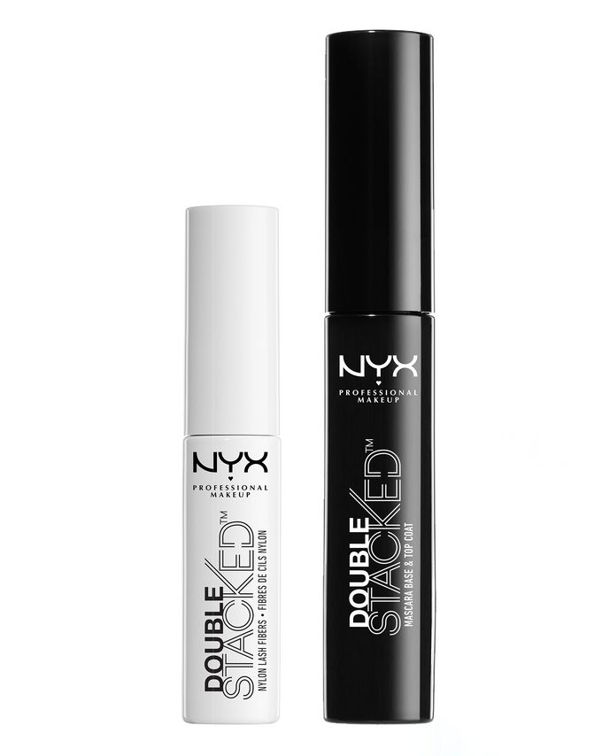 NYX Professional Makeup Double Stacked Fiber Mascara