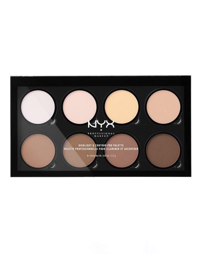 NYX Professional Makeup. Highlight & Contour Pro Palette