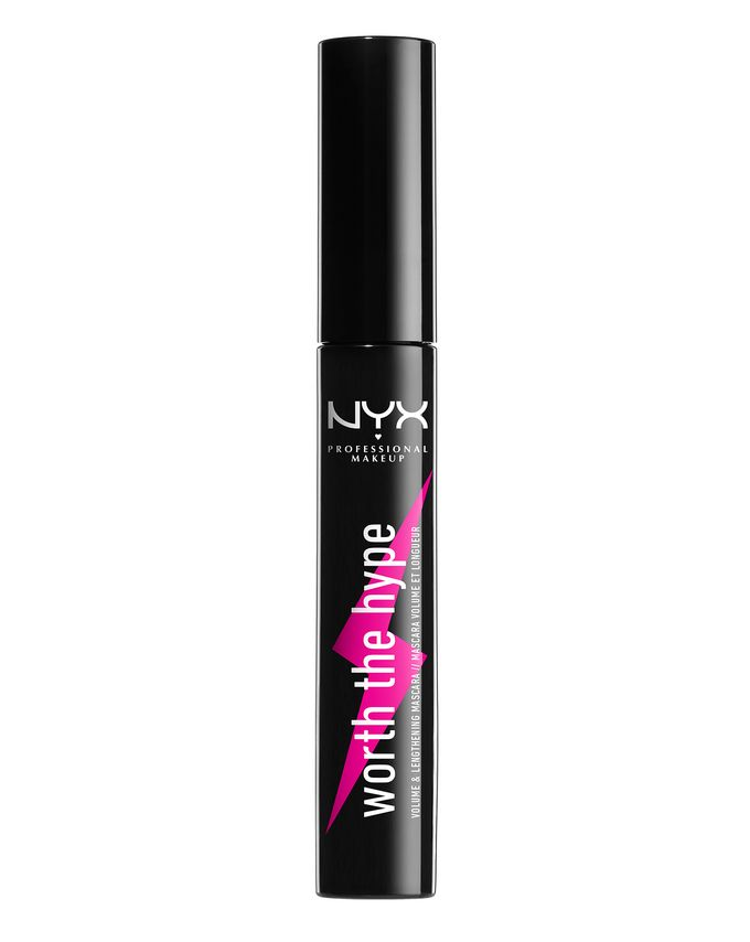 a02b311d1b7 NYX Professional Makeup. Worth the Hype Volumizing & Lengthening Mascara