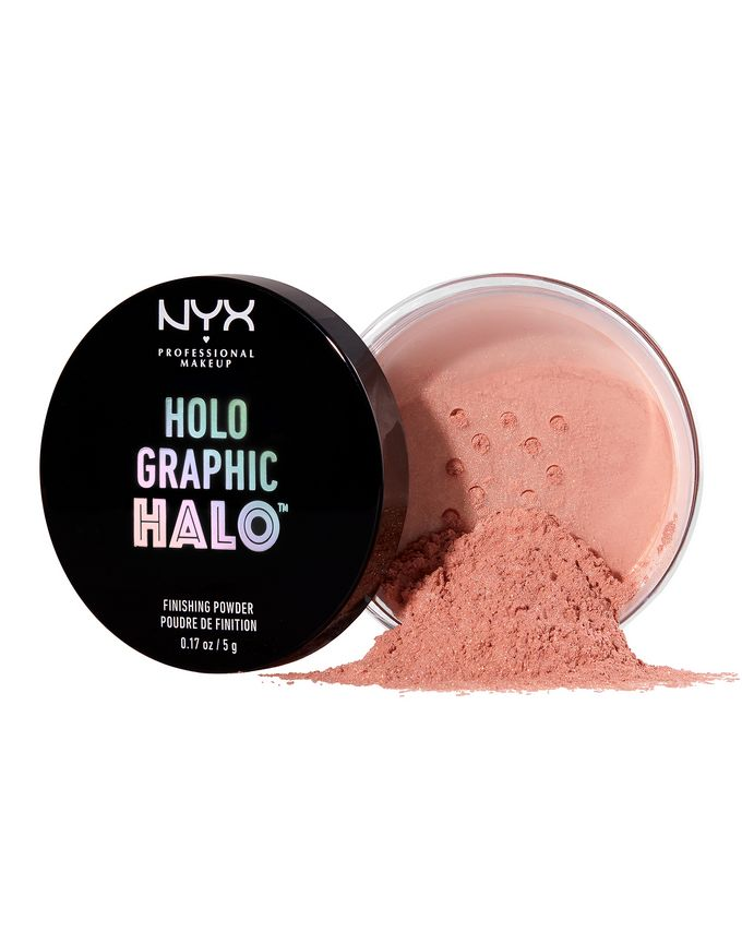 NYX Professional Makeup Holographic Halo Finishing Powder