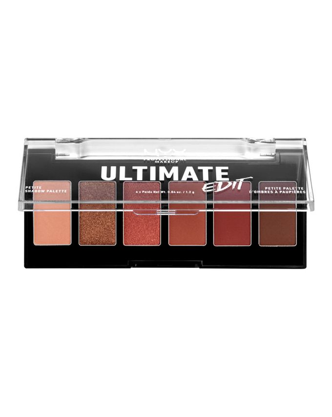 NYX Professional Makeup Ultimate Edit Petite Eye Shadow Palette