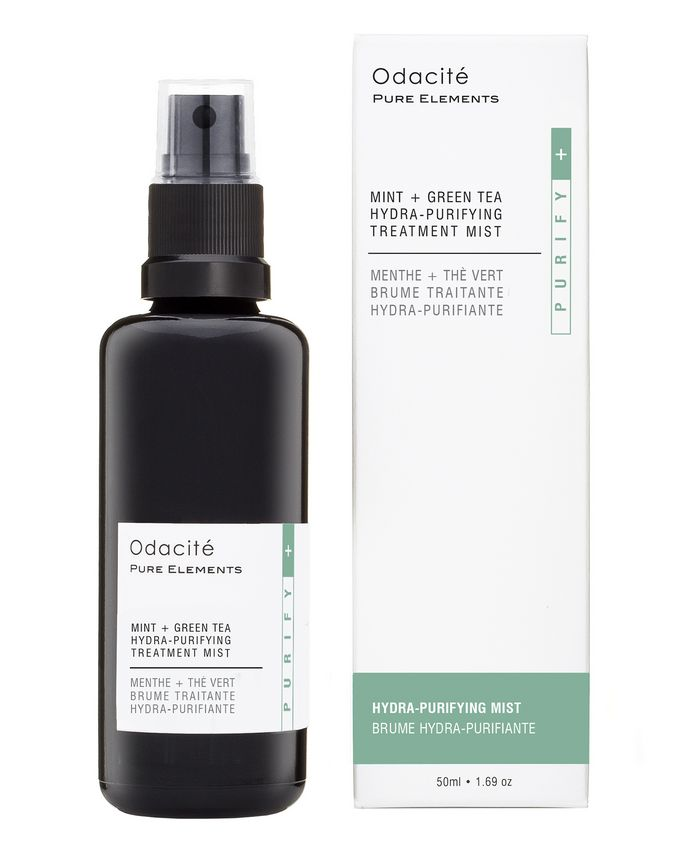 Odacite Mint + Green Tea Hydra-Purifying Treatment Mist