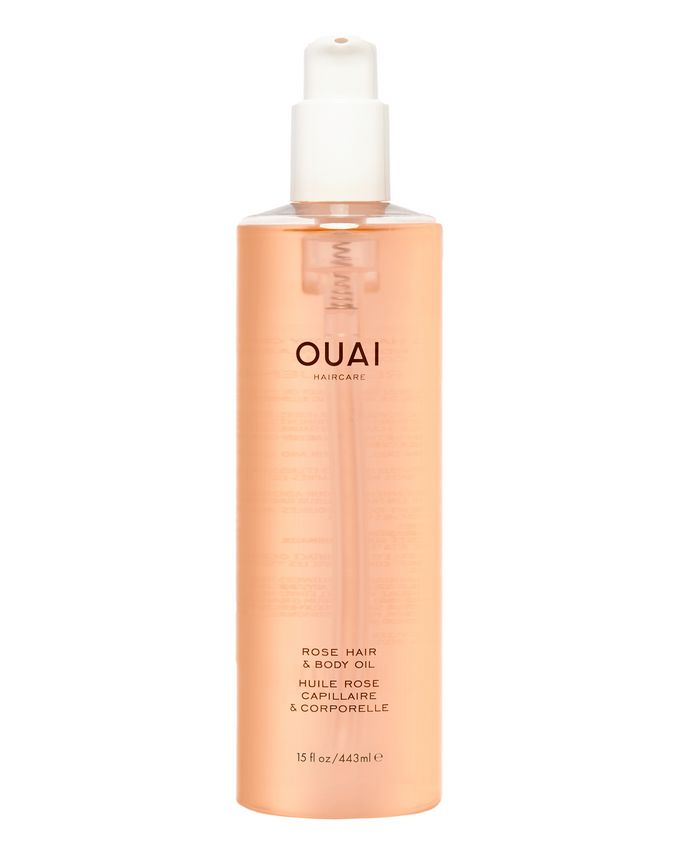 OUAI Haircare Cult Beauty Exclusive Rose Hair & Body Oil Magnum
